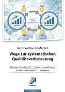 Best Practice-Konferenz am 08.10.2019